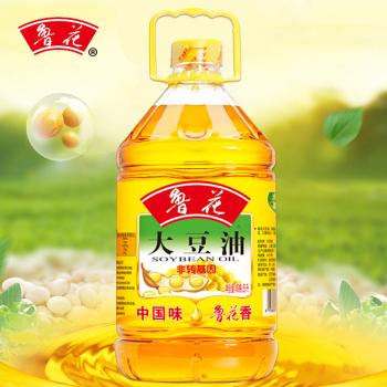 鲁花大豆油5L