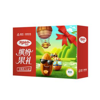 首农双桥农场缤纷果礼坚果礼盒918g