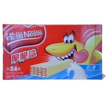 雀巢威化24条 奶香 480g