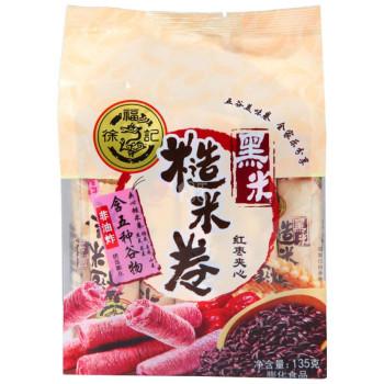 徐福记糙米卷黑米红枣135g