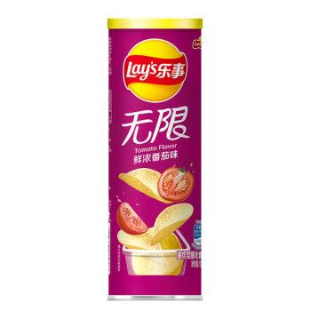 乐事薯片 番茄味 104g