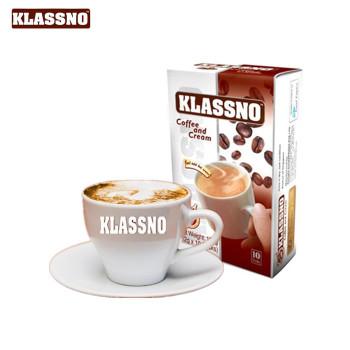 马来西亚进口 卡司诺(Klassno)2合1无蔗糖咖啡120g